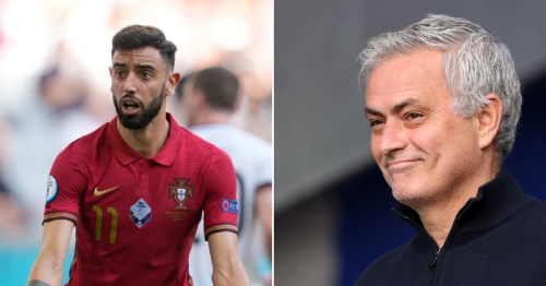 Jose Mourinho accuses Manchester United star Bruno Fernandes of going missing for Portugal