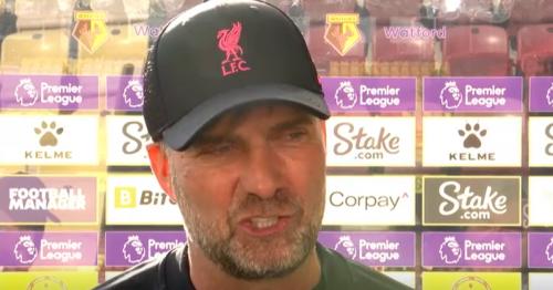 'Thank God he didn't go!' Jurgen Klopp singles out Liverpool star for praise after Watford win