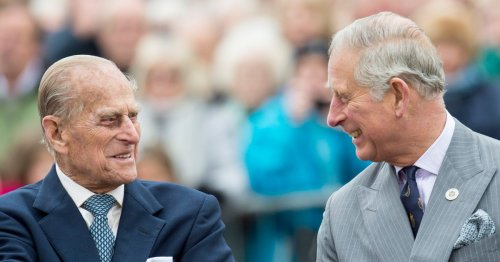 Prince Charles reveals the last words he said to Philip on day before his death