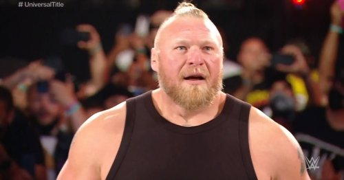 Brock Lesnar looks ridiculously ripped for first WWE match in 19 months at Crown Jewel