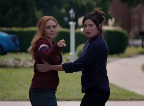 WandaVision star Kathryn Hahn plays coy as she speculates over Agatha Harkness and Scarlet Witch reunion