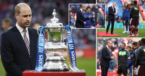William seen at FA Cup final after Harry compares royal life to 'living in zoo'
