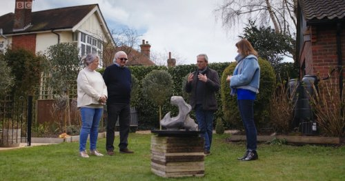 Fake or Fortune: Fiona Bruce 'in tears' as couple told door stop could be worth a staggering £1m