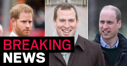 William and Harry to be kept apart by Peter Phillips at Duke's funeral
