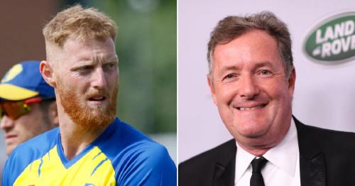 Piers Morgan avoids criticising Ben Stokes over mental health break despite slamming Simone Biles and Naomi Osaka