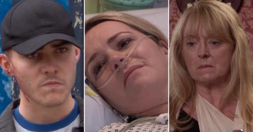 Seven Coronation Street spoiler videos reveal Corey caught, Natasha's goodbye and death trauma