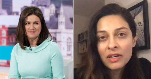 Susanna Reid apologises to Good Morning Britain guest Professor Devi Sridhar after title left out in 'sexist' error