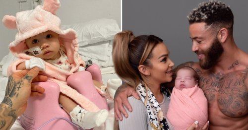 Ashley Cain and partner Safiyya pay heartbreaking tribute to baby daughter Azaylia on 6 month anniversary of her death