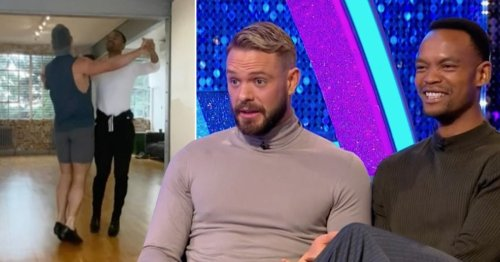 Strictly Come Dancing 2021: John Whaite suffering from 'sore lower back' as he details 'pain' of training