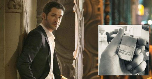 Lucifer's Tom Ellis says goodbye to the Devil on final day of filming – as release date for season 5b is confirmed