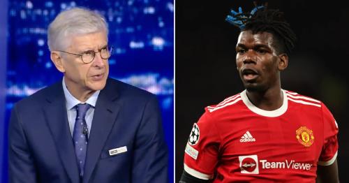 Manchester United star Bruno Fernandes improved when Paul Pogba came on against Atalanta, says Arsene Wenger