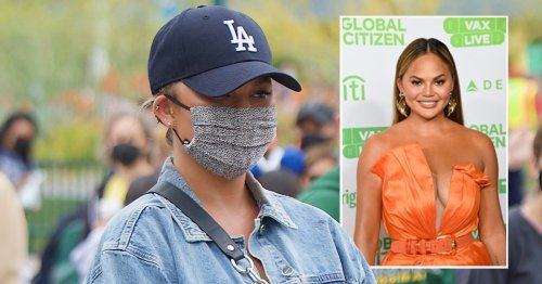 Chrissy Teigen spotted for the first time since cyber bullying scandal began