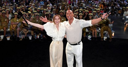 Dwayne Johnson celebrates his highest Rotten Tomatoes score ever with Jungle Cruise