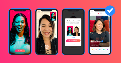 Tinder's selfie challenge to verify users and stop catfishing rolls out across the UK
