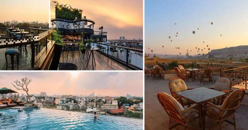 These 10 hotel rooftops are the winners of the 2021 Tripadvisor Travellers' Choice Awards