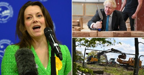 Boris urged to scrap planning reforms or face losing more 'blue wall' seats