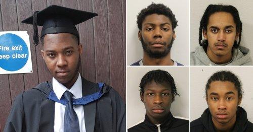 Four gang members jailed for life after 'brutal murder' of innocent NHS worker