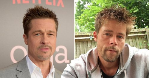 Brad Pitt lookalike had to delete dating apps after being 'stalked' by women: 'I'm not looking for my Angelina'