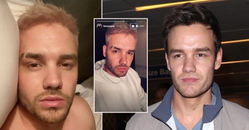 Liam Payne trying to have more fun as a blonde after Maya Henry split – and he's got an eyebrow slit too