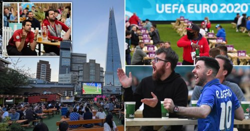 Brits 'to blow £3,000,000,000 and drink 10,000,000 pints' as Euro 2020 kicks off