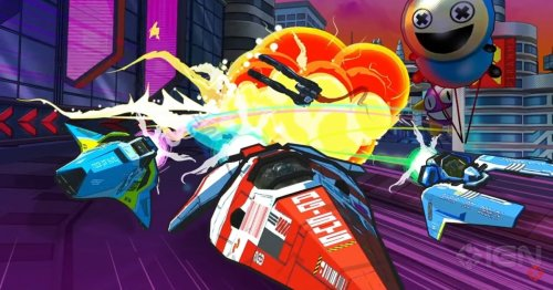 Sony announce new WipEout game – see if you can guess the catch
