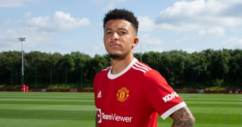 Manchester United confirm Jadon Sancho will wear No.25 after £72.9m transfer