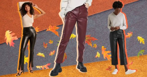 Nine of best leather trousers to invest in this autumn