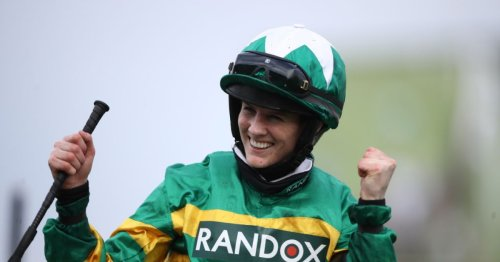 Grand National winner Rachael Blackmore rushed to hospital with leg injury after fall at Killarney
