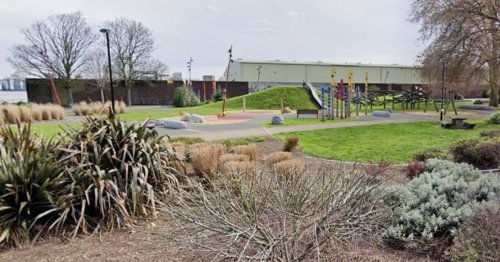 Schoolgirl, 15, pinned down and raped by three boys in park