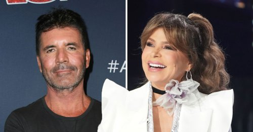 American Idol guest judge Paula Abdul brands Simon Cowell 'the STD' in awkward scenes