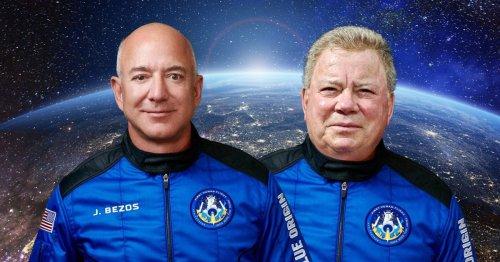 Star Trek's William Shatner set to boldly go 'to space with Jeff Bezos's Blue Origin crew'