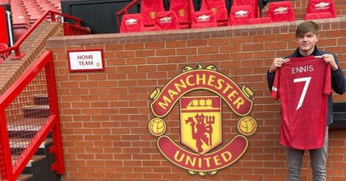 Liverpool youngster Ethan Ennis rejects new deal to sign for arch-rivals Manchester United