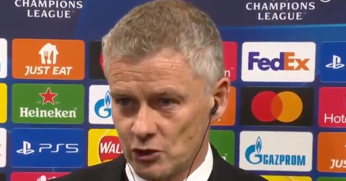 Manchester United boss Ole Gunnar Solskjaer fires back at 'disrespectful' question and reveals what he said at half-time against Atalanta