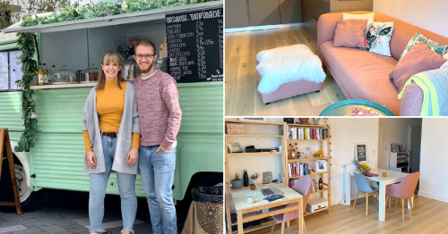 What I Rent: Clara and Florian: £1,425 a month for a one-bedroom flat in Woolwich, London
