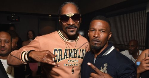 Jamie Foxx once asked Snoop Dogg to intimidate his daughter's new boyfriend and we're willing to bet it worked