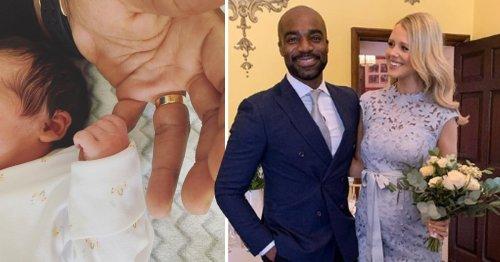 Ore Oduba and wife Portia welcome newborn daughter with adorable name