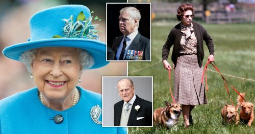 Queen 'given corgi puppy' by Andrew on Philip's 100th birthday