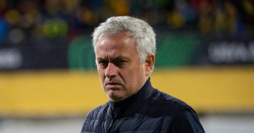 Jose Mourinho told Roma stars they weren't good enough for Serie B during half-time rant in Bodo/Glimt defeat