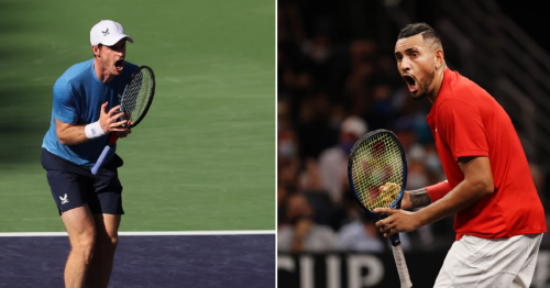 'No way' – Nick Kyrgios reacts to surprise Andy Murray moment during Indian Wells match