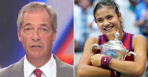 Nigel Farage's remarks about Romanians resurface after he praises Emma Raducanu