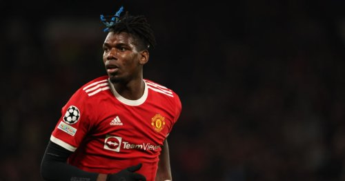 Paul Pogba insists he's 'happy' at Manchester United as contract talks continue