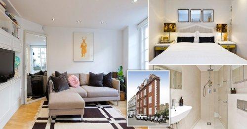 London flat so skinny it looks like a film set is on sale for £795,000
