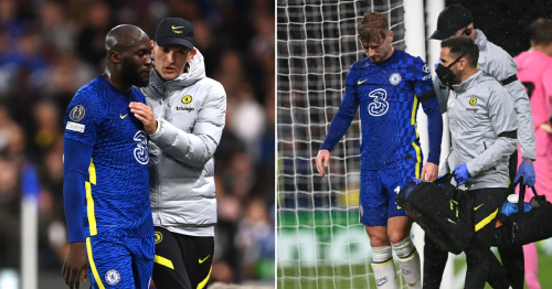 Romelu Lukaku and Timo Werner out for Chelsea's next two games at least, says Thomas Tuchel