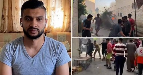 Man in Gaza describes terrifying moment he fled drone strike with pregnant wife
