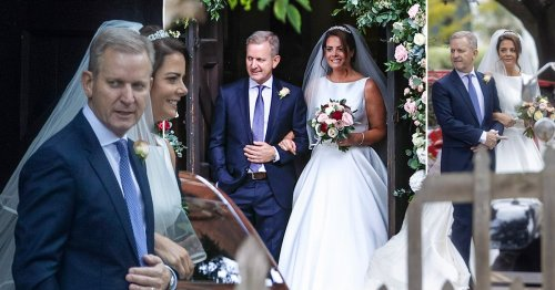 First look at Jeremy Kyle's church wedding to Vicky Burton after postponing ceremony six times