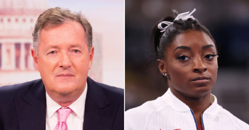 Piers Morgan claims Simone Biles 'let her country down' after pulling out of Tokyo 2020 Olympics