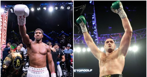 Anthony Joshua takes another swipe at Tyson Fury but remains hopeful fight can take place at the end of the year