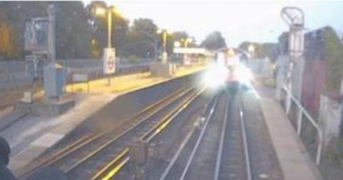Train almost smashed into Tube after tired driver passed red light at 60mph