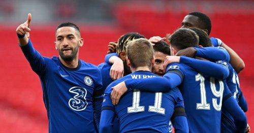 Hakim Ziyech ends Man City's quadruple dream as Chelsea reach FA Cup final