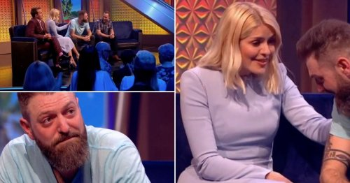 Holly Willoughby consoles tearful mental health campaigner as he wins incredible prize on Take Off